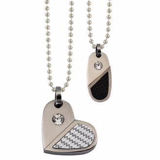 Picture of HEART WITH RHINESTONE