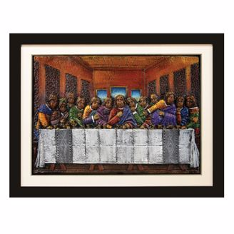 Picture of ARTR01 Last Supper Relief Art