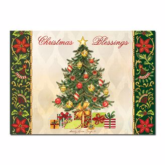 Picture of C927 Christmas Tree Blessings