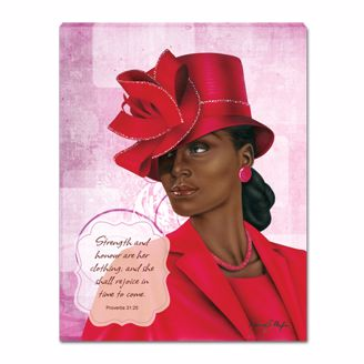 Picture of VIRTUOUS WOMAN RED (SMALL)