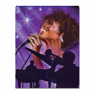 Picture of JAZZ SINGER (SMALL)