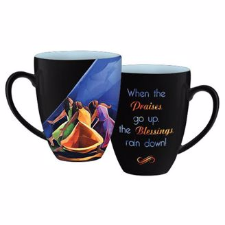 Praises Go Up Inspirational Mug