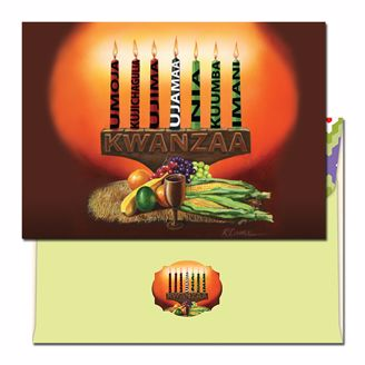 Picture of K916 Kwanzaa Candles