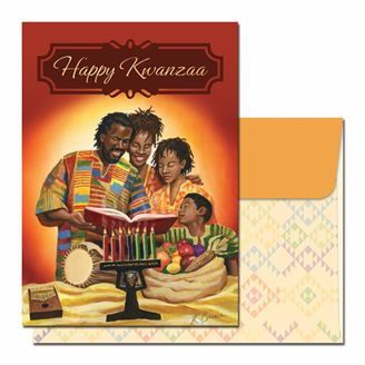 Picture of K917 Happy Kwanzaa Family