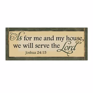 Picture of CHWP19 Serve the Lord Wall Plaque