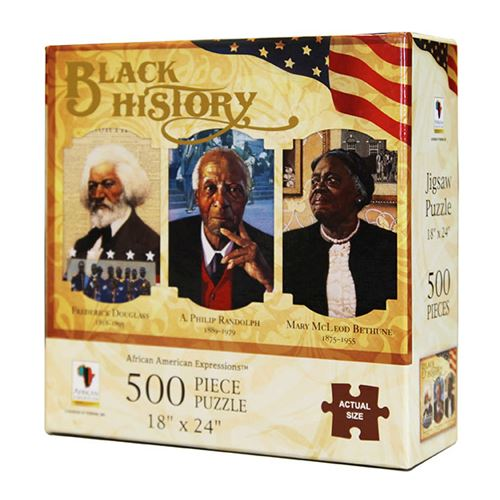 Black History Jigsaw Puzzle African American Expressions