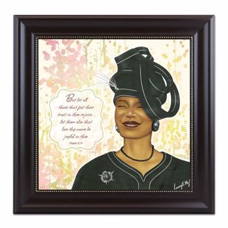 Virtuous Woman Black Artwork Psalm 511