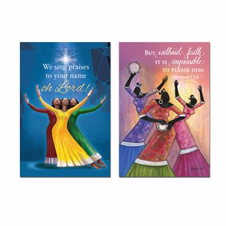 Picture of FAITH/WE SING PRAISES MAGNET SET
