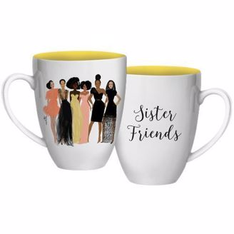 Sister Friends Ethnic Coffee Mug
