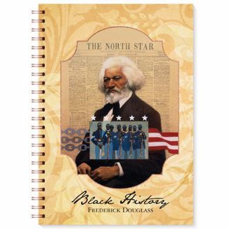 The North Star Frederick Douglass Blank Wired Writing Journal