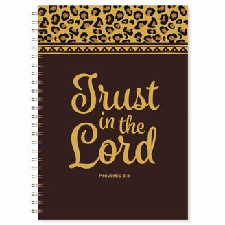 Picture of J193 Trust in the Lord Leopard Print Wired Journal