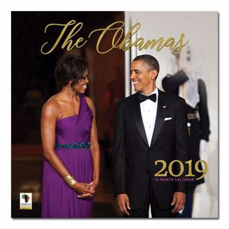 Picture of WC174 The Obamas 2019 Wall Calendar