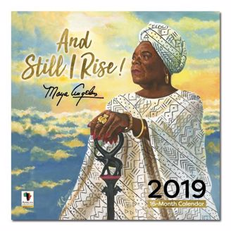 Picture of WC181 And Still I Rise Maya 2019 Wall Calendar