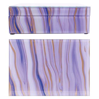 Picture of MB01 Maya Keepsake Box - Purple