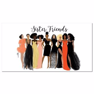 Picture of P396 Sister Friends 2019-2020 Checkbook Planner