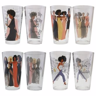 Picture of DGL04 Sister Friends Drinking Glass Set