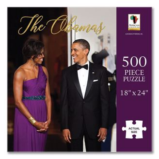 Picture of PUZ16 The Obamas Puzzle
