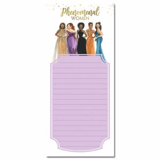 Picture of MNP123 Phenomenal Women Magnetic Notepad
