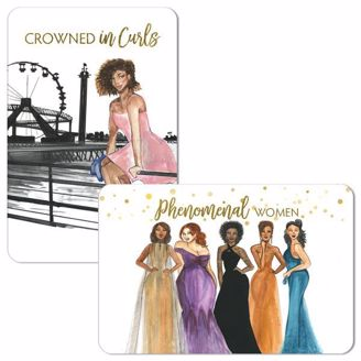 Picture of M200 Phenomenal Women/Crowned in Curls Magnet Set