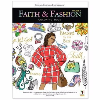 Faith & Fashion Coloring Book at African American Expressions