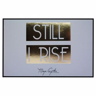 Picture of CHWP38 Still I Rise Wall Plaque