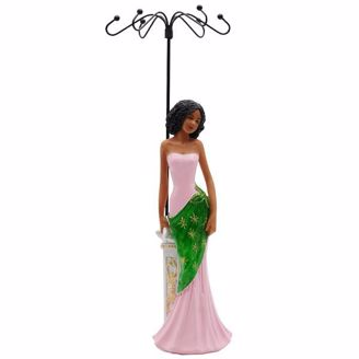 Picture of JGL03 Glamour Jewelry Holder  - Pink and Green
