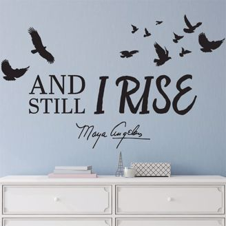 Picture of WD02 Still I Rise Wall Art Decal