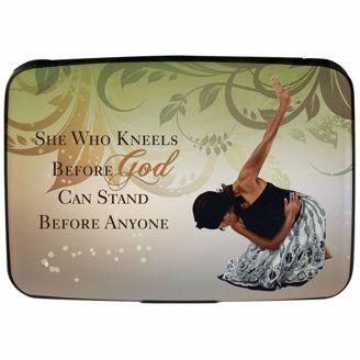 Picture of CHC01 She Who Kneels Card Holder
