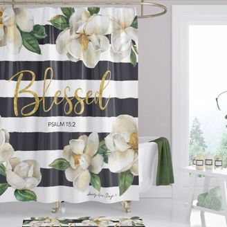 Picture of SC01 Blessed Magnolia Shower Curtain