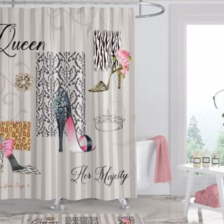 Picture of SC07 Queen Boutique Shower Curtain