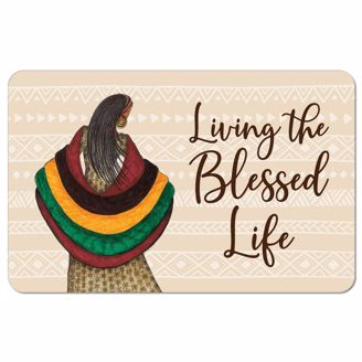 Picture of SM11 Blessed Life Floor Mat