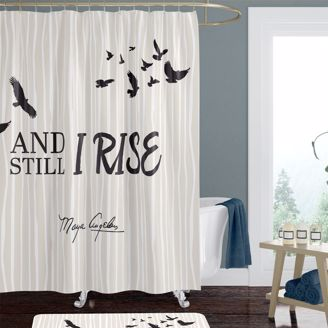 Picture of SC12 And Still I Rise Shower Curtain