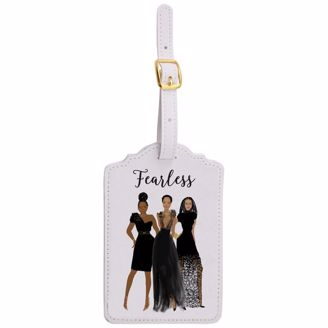Picture of LT01 Fearless Luggage Tag Set