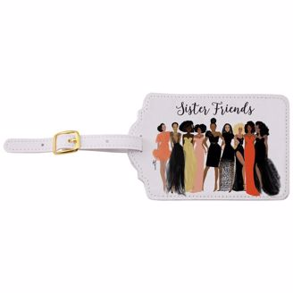 Picture of LT06 Sister Friends Luggage Tag Set