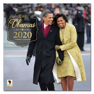 Picture of WC182 2020 THE OBAMAS CALENDAR