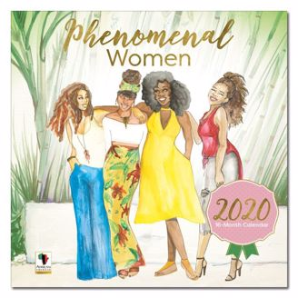Picture of WC191 2020 PHENOMENAL WOMEN CALENDAR
