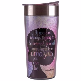 Picture of TC13 Amazing Quote (Maya Angelou) Travel Cup
