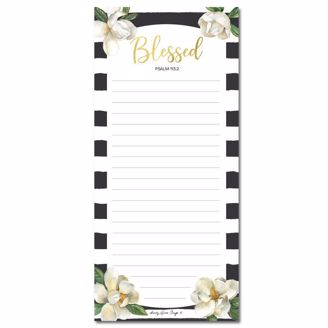 Picture of MNP127 Blessed Magnolia Magnetic Notepad