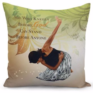 Picture of PC03 She Who Kneels Pillow Cover