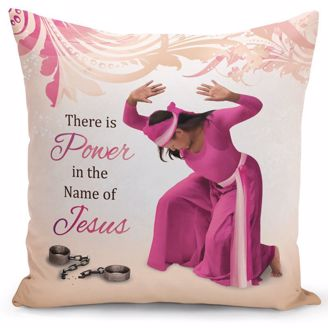 Picture of PC09 Power in Jesus Pillow Cover
