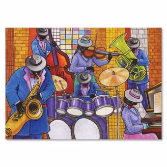 Picture of C956 Jazz Ensemble Christmas Card