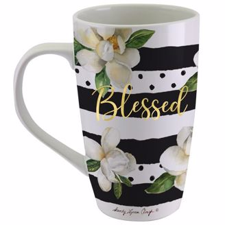 Blessed Magnolia Sandy Clough Latte Mug LMUG14