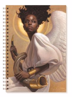 Sound the Alarm Angel Thomas Blackshear Art Journal J127
