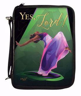 Yes Lord 2 Black Art Bible Organizer