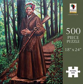 Harriet Tubman Black History 500 Piece Puzzle PUZ21