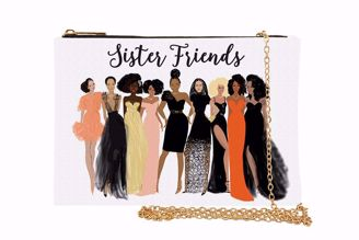 Sister Friends Nicholle Kobi Chain Purse Clutch SP02