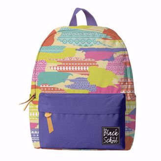 Paint Splatter Print Backpack Set BP02