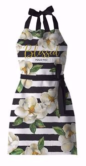 Blessed Magnolia Sandy Clough Apron KA02
