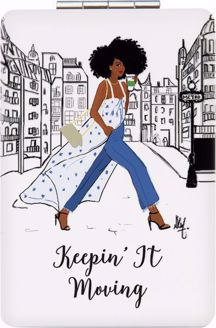 Keepin It Moving Sister Friends Nicholle Kobi Compact Mirror PM02