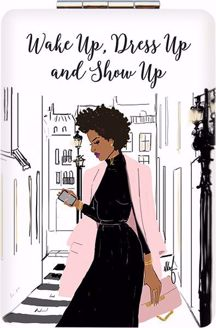 Show Up Sister Friends Nicholle Kobi Compact Mirror PM03